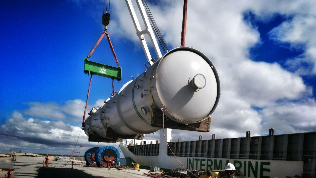 Logistica nacional e internacional para as cargas de FPSO - TUPI BV P67 & P70