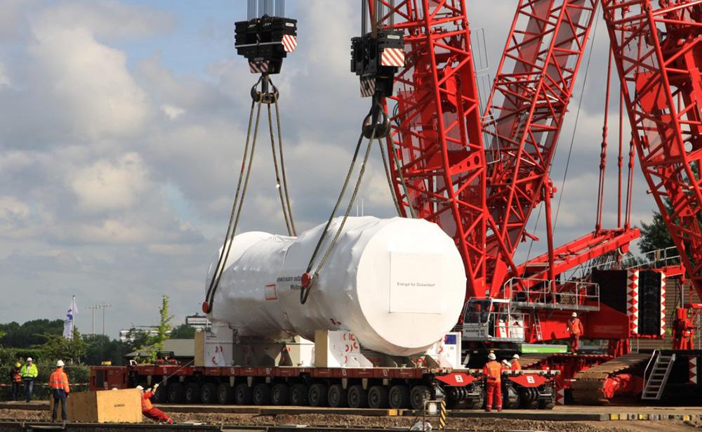Serviços de apoio logístico à montagem - UTE CCG Parnaiba I